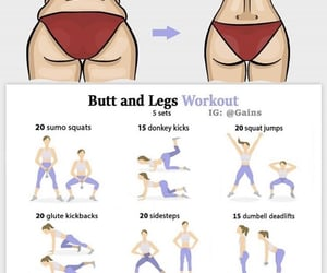 body, fitness, and butt image