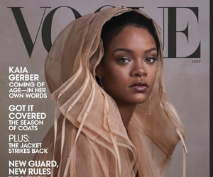 rihanna, vogue, and fashion image