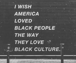 america, sign, and black culture image