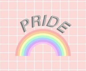 gay, pride, and pride month image