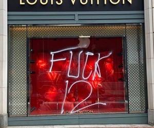 designer, graffiti, and Louis Vuitton image