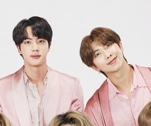 jin, seokjin, and namjoon image