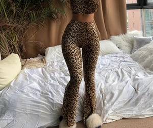 animal print, girly, and body goals image