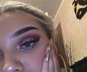 make up, makeup, and nails image
