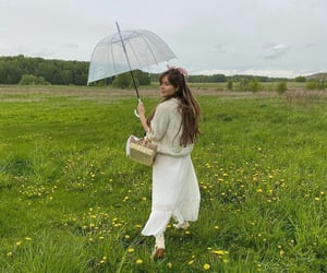 bright, countryside, and fashion image