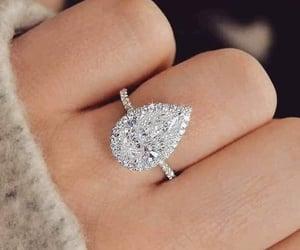 ring, jewelry, and diamonds image