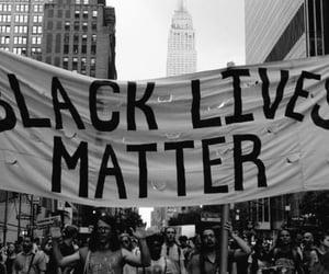 racism and black lives matter image