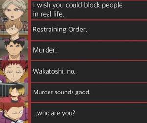 anime, funny, and haikyuu image