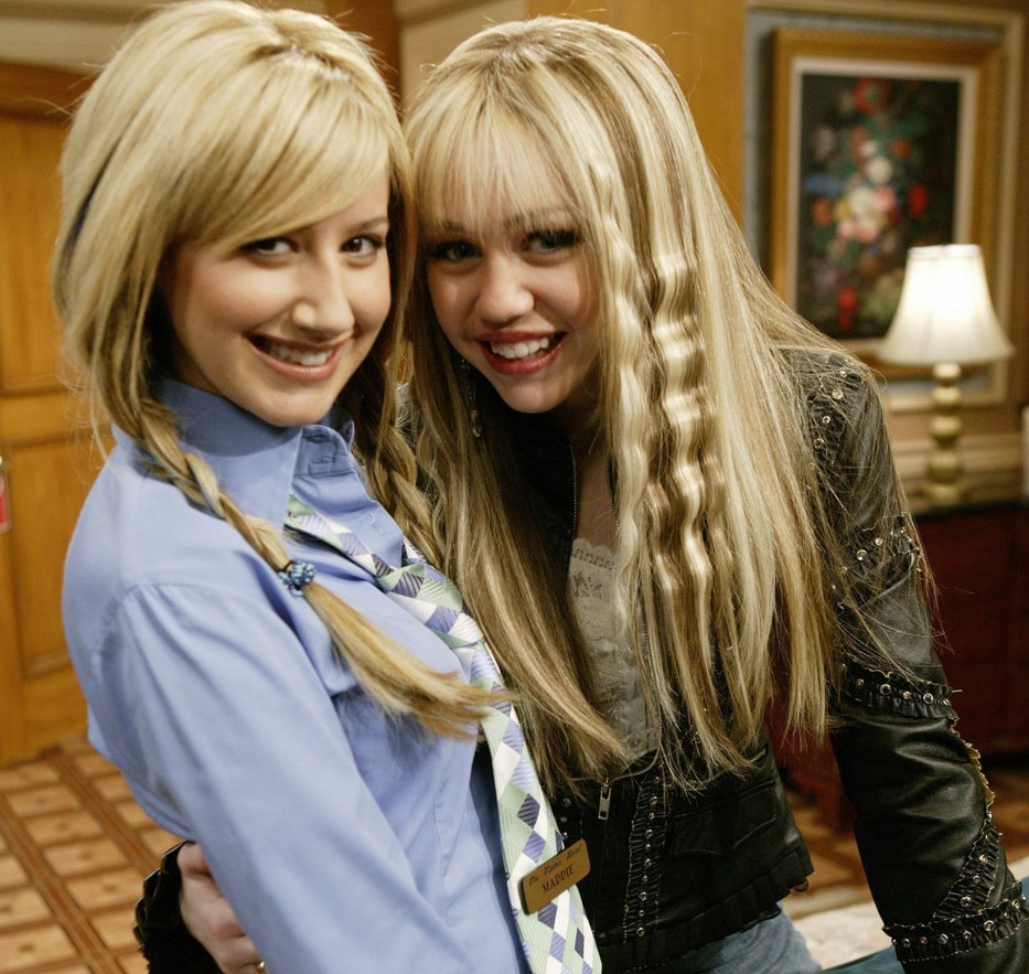 article, hannahmontana, and hilaryduff image