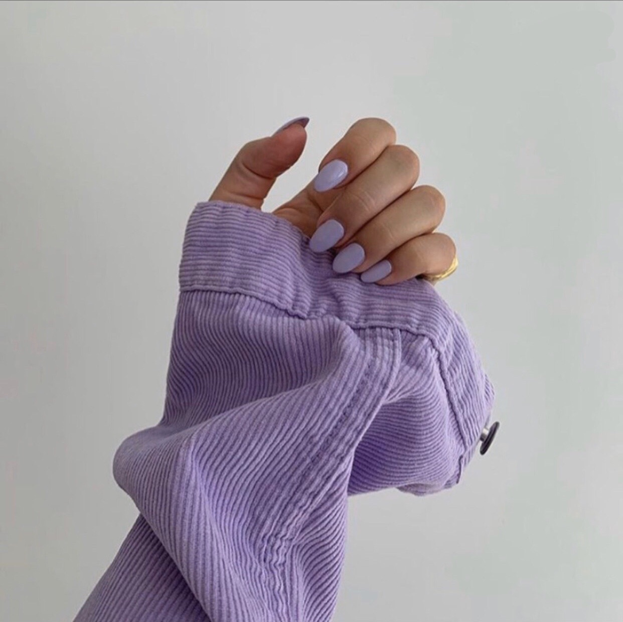 nails, purple, and aesthetic image