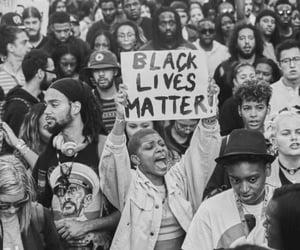 black lives matter, black, and blm image