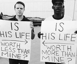 life, black, and racism image