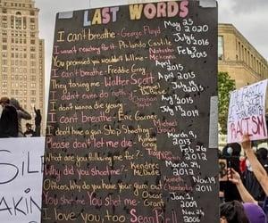 black lives matter, protest, and blm image