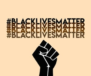 empowerment, justice, and blm image