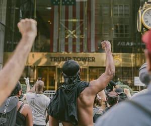 protest, blacklivesmatter, and george flyod image