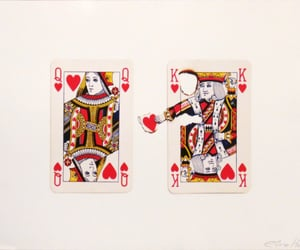 cards, king, and heart image