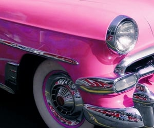 automobiles, cadillac, and pink image