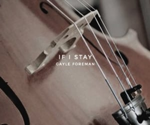 book, if i stay, and gayle foreman image