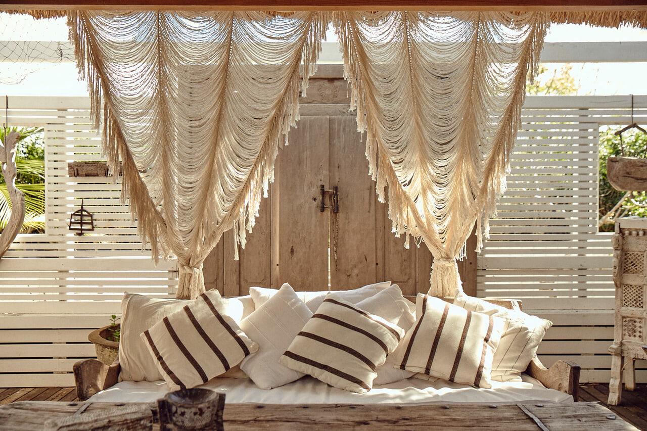 article, boho curtains, and boho minimalism image