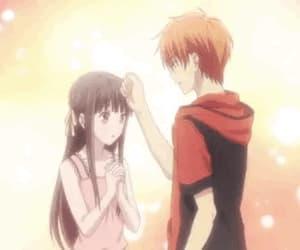 anime girl, gif, and kyo image