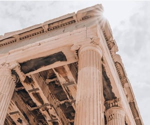 acropolis, ancient, and architecture image