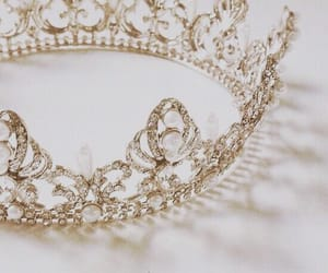 crown, aesthetic, and princess image