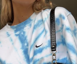 fashion, nike, and blue image