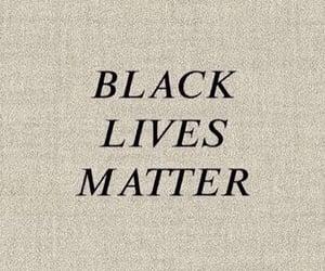 activism, humanity, and black lives matter image