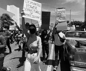 protest, blm, and black lives matter image