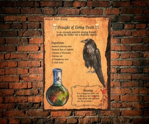 alchemist, etsy, and wallhanging image