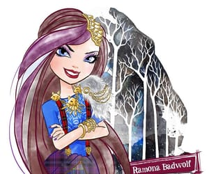 eah, ever after high, and ramona badwolf image