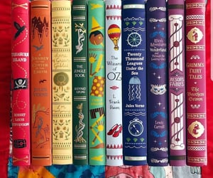 book, books, and colores image