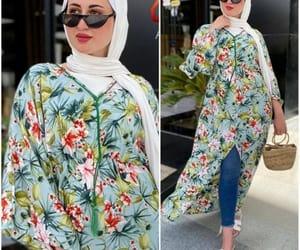 kaftans, abaya hijab style, and open abaya style image