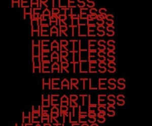 heartless, quotes, and red image