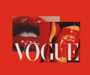 red and vogue image