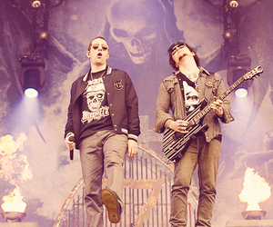 synyster gates, a7x, and m shadows image