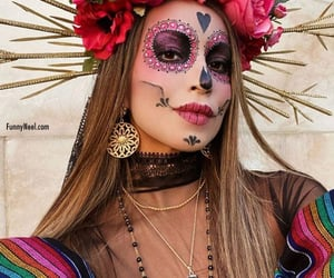 artworks, face painting, and funny image