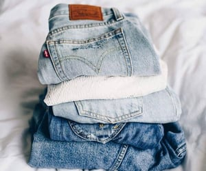 elegant and jeans image