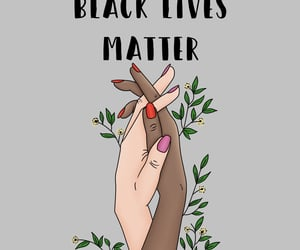 black lives, drawing, and hands image