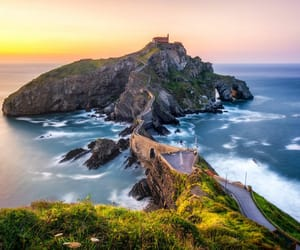 basque, mountains, and sea image