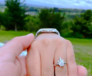 engaged, iloveyou, and ring image