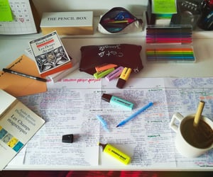 baudelaire, books, and coffee image