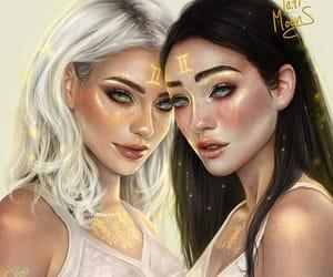 gemini, art, and astrology image