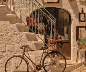 italy, summer, and bike image