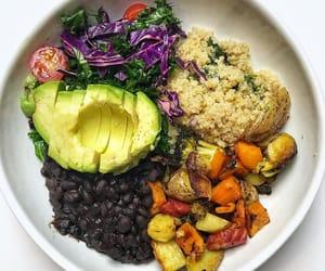 avocado, salad, and quinoa image