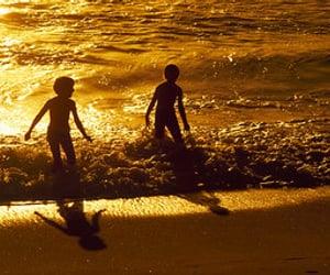 activity, fun, and ocean image