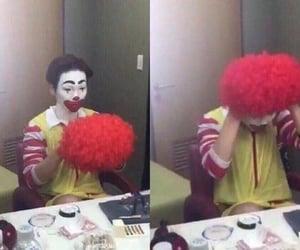 meme, clown, and reaction image