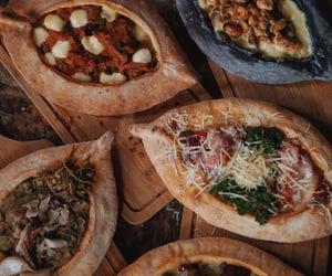 food, Georgia, and khachapuri image