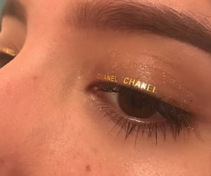 chanel, makeup, and eyes image
