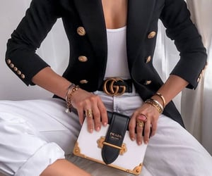 accessories, bags, and black & white image